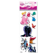 EK Success - Disney Princess Collection - 3 Dimensional Stickers - Sleeping Beauty, BRAND NEW