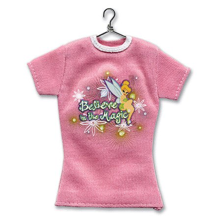 EK Success - Disney - Mini T-Shirt - Tinkerbell - Tink Believe in Magic, CLEARANCE