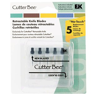 EK Success - CutterBee - Retractable Knife Blades