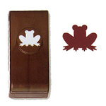 EK Success - Paper Shapers - Actopus to Zelephant Collection - Medium Punch - Frog