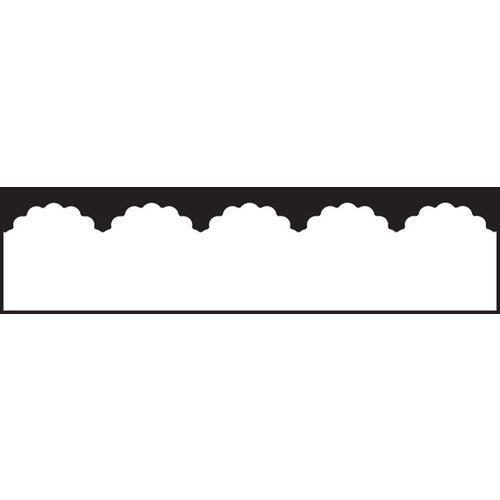 EK Success - Paper Shapers - Edger Punch - Scalloped Scallop