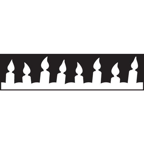 EK Success - Paper Shapers - Edger Punch - Candles