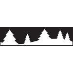 EK Success - Paper Shapers - Edger Punch - Alpine Trail
