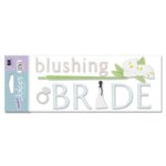 EK Success - I Do Collection - A Touch of Jolee's - Blushing Bride