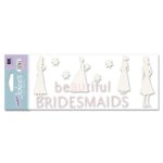 EK Success - I Do Collection - A Touch of Jolee's - Beautiful Bridesmaid