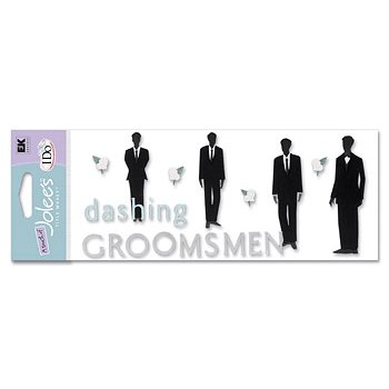EK Success - I Do Collection - A Touch of Jolee's - Groomsmen