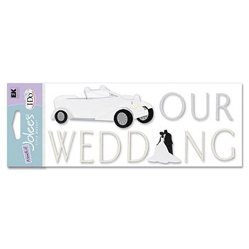 EK Success - I Do Collection - A Touch of Jolee's - Our Wedding