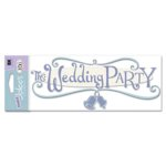 EK Success - Jolee's Boutique Title Wave Stickers - I Do Wedding Collection - The Wedding Party, CLEARANCE