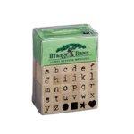 Image Tree Alphabet Stamps - Antique Typewriter Lower Case