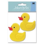 EK Success - Jolee's By You - 3D Embellishment Stickers - Rubber Duckie