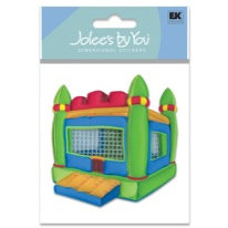 EK Success - Jolee's By You - Dimensional Stickers - Inflatable Jumping Pit