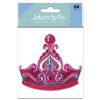EK Success - Jolee's By You - Dimensional Stickers - Tiara, CLEARANCE