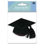 EK Success - Jolee's By You - Dimensional Stickers - Grad Cap