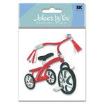 EK Success - Jolee's By You - Dimensional Stickers - Tricycle