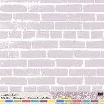 EK Success - Sticko 12 x 12 Rub Ons -   Brickwork, CLEARANCE