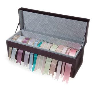 sc 1 st  Scrapbook.com & Martha Stewart Crafts - Ribbon Storage Box - Ebony BRAND NEW
