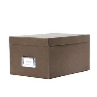 Martha Stewart Crafts - Photo Storage Box - Walnut, BRAND NEW