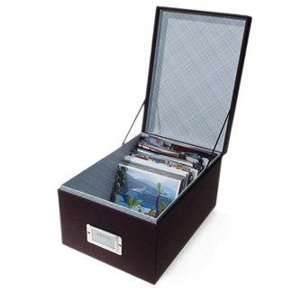 Martha Stewart Crafts - Photo Storage Box - Ebony, BRAND NEW