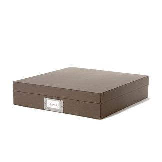 Martha Stewart Crafts - Storage Box - 12 x 12 - Walnut, BRAND NEW