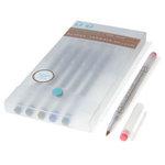 Martha Stewart Crafts - Dual-Tip Calligraphy Pen Set - 6 Pieces