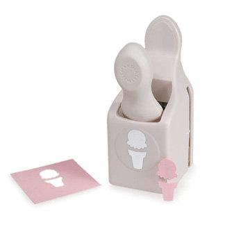 Martha Stewart Crafts - Craft Punch - Medium - Ice Cream Cone, BRAND NEW