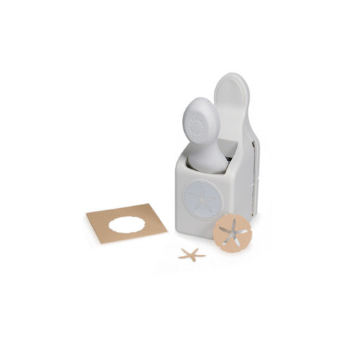 Martha Stewart Crafts - Double Craft Punch - Sand Dollar and Starfish