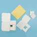 Martha Stewart Crafts - Customizable Flourish Favor Boxes - Ivory, BRAND NEW