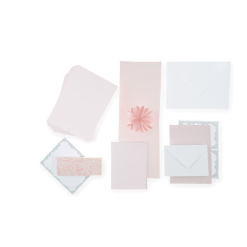 Martha Stewart Crafts - Occasions Collection - Water Lily Invitations Suite Kit, BRAND NEW