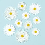 Martha Stewart Crafts - 3 Dimensional Glossary Stickers - Daisy, CLEARANCE