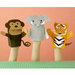 Martha Stewart Crafts - Zoo Animal Puppet Kit, BRAND NEW
