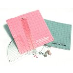 EK Success - 1-2-3D Paper Crafting System - Template - Scoring Mat - Push Pins - with Instructional DVD