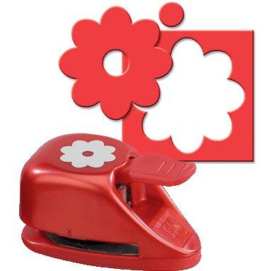 EK Success - Paper Shapers - Double Punch - Double Flower