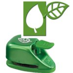 EK Success - Paper Shapers - Double Punch - Double Leaf