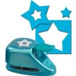 EK Success - Paper Shapers - Double Punch - Double Star