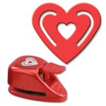 EK Success - Paper Shapers - Buckle Punch - Medium Buckle Heart