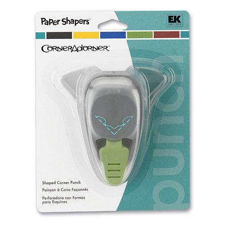 EK Success - Paper Shapers - CornerAdorner - Laurel