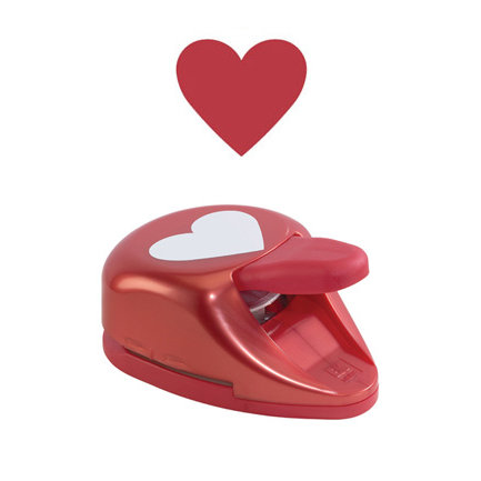 EK Success - Paper Shapers - Decorative Punch - Heart - Extra Large