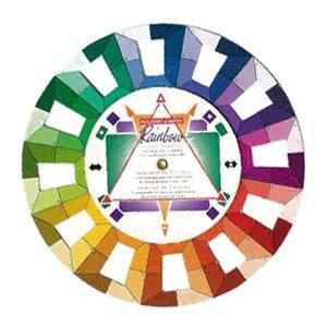 Rainbow Color Selector Wheel - Studio Size, CLEARANCE