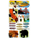 EK Success - Jolee's Boutique - 3 Dimensional Stickers - California
