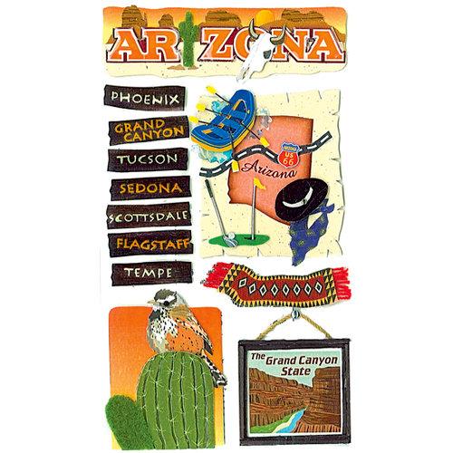 EK Success - Jolee's Boutique - 3 Dimensional Stickers - Arizona