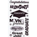 EK Success - Sticko Semi Layered Stickers - Graduation