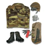 Jolee's Boutique - Sports and Leisure Collection - Army Fatigues