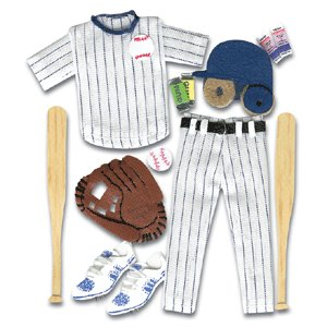 Jolee's Boutique - Sports and Leisure Collection - Baseball