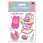EK Success - Jolee's Boutique - Dimensional Stickers - Girl's 1st Birthday