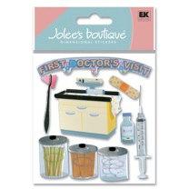 EK Success - Jolee's Boutique - Dimensional Stickers - Getting Your Shots
