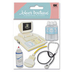 EK Success - Jolee's Boutique - Dimensional Stickers - Ultrasound