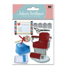 EK Success - Jolee's Boutique - Dimensional Stickers - Baby's 1st Hair Cut