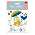 EK Success - Jolee's Boutique - Dimensional Stickers - Summer Gear