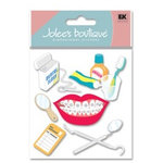 EK Success - Jolee's Boutique - Dimensional Stickers - Braces