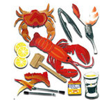 EK Success - Jolee's Boutique - 3 Dimensional Stickers - Crustacean